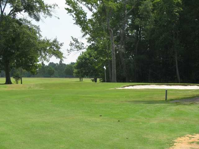 A view of the 4th green at Indian Trail Golf Course