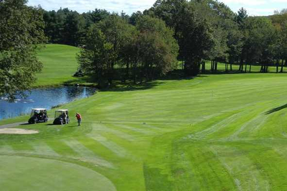 A view of a fairway at Thomson Country Club