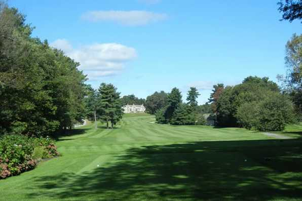 A view from tee #1 at Thomson Country Club