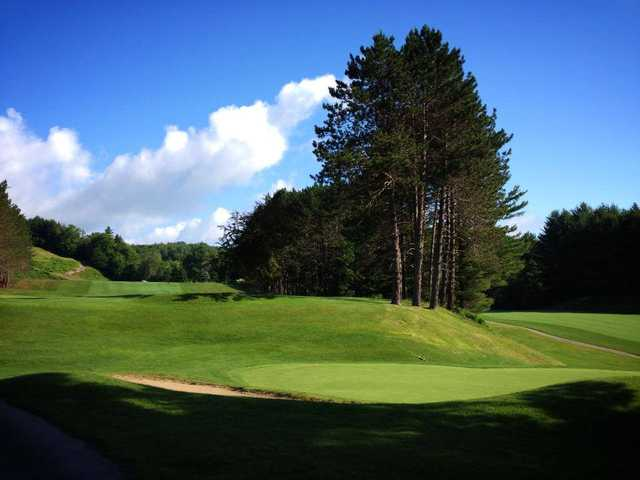 A sunny day view from St. Johnsbury Country Club