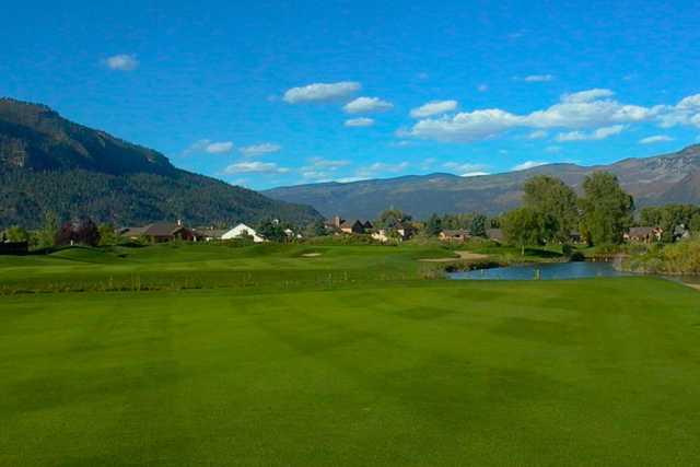 A view from a fairway at Dalton Ranch & Golf Club