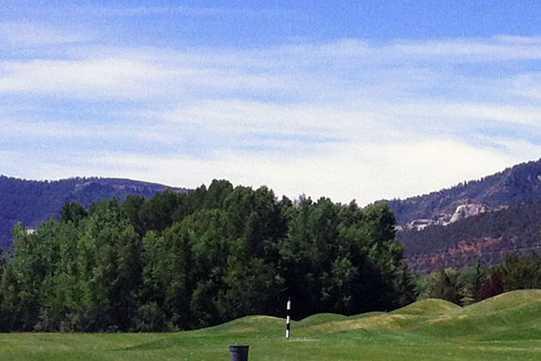 A view from Dalton Ranch & Golf Club