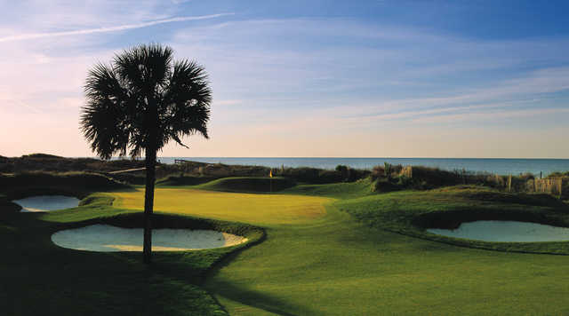 View of green #14 from the Turtle Point at Kiawah Island Golf Resort