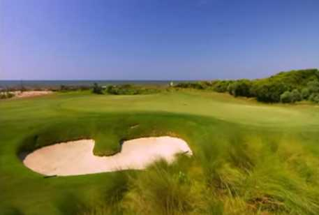 A view of a green from Turtle Point at Kiawah Island Golf Resort