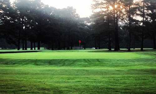 A view of a green at Ayden Golf & Country Club