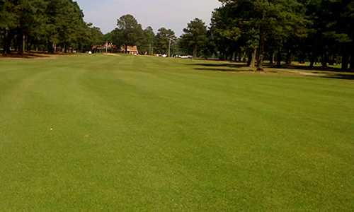 A view of a fairway at Ayden Golf & Country Club