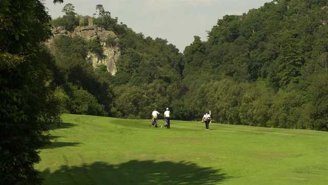 A sunny day view from Hawkstone Park Golf Club