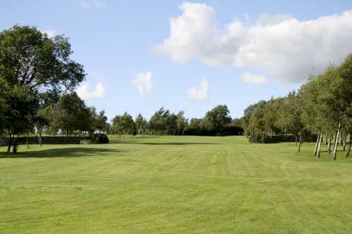 A view of the 15th fairway at Bracken Ghyll Golf Club