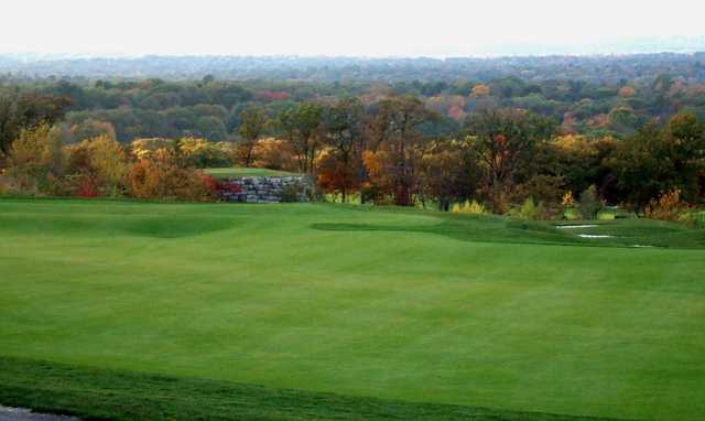 A fall view from Granite Links Golf Club At Quarry Hills.