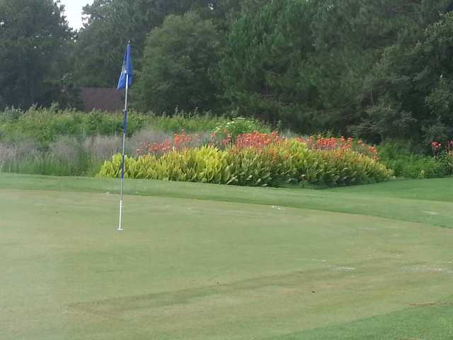 A view of a hole at Bear Creek Golf Club