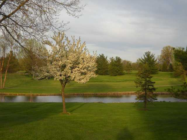 A spring view from Raccoon Hill Golf Club