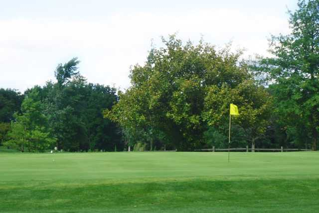 A view of a green at Whiteford Valley Golf Club