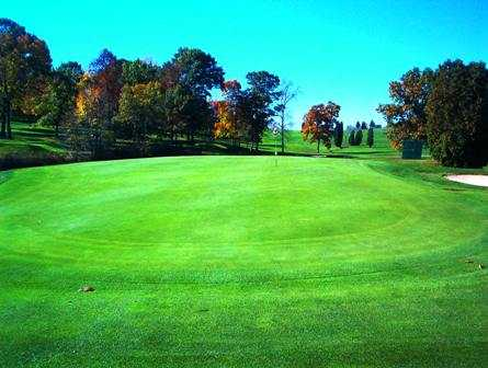 A view of a green at Fort Cherry Golf Club