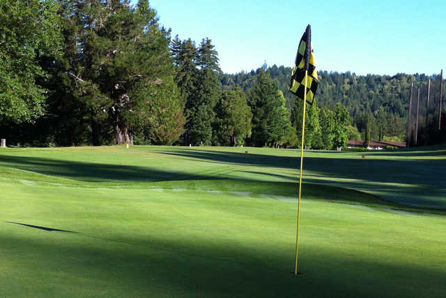 A view of a hole at Boulder Creek Golf & Country Club
