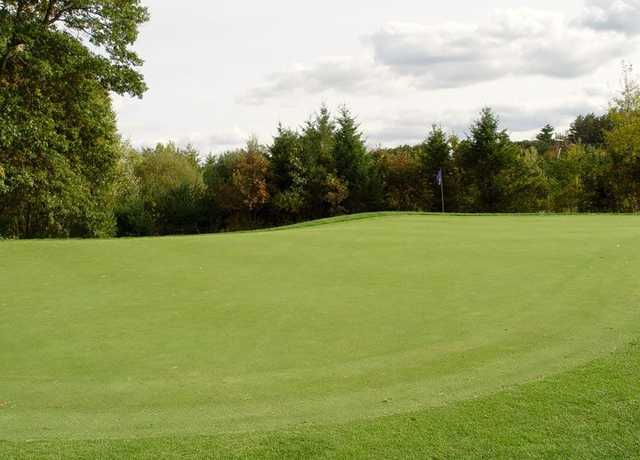 A view from Sassamon Trace Golf Course