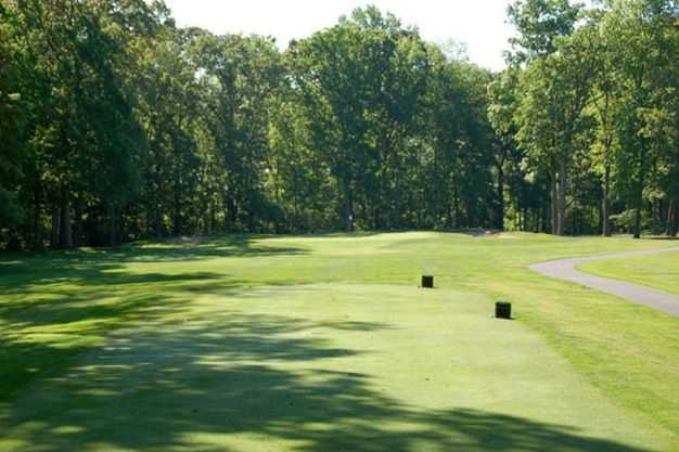A view from a tee at Kings Creek Country Club