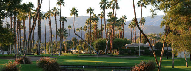 View from Rancho Las Palmas South Nine