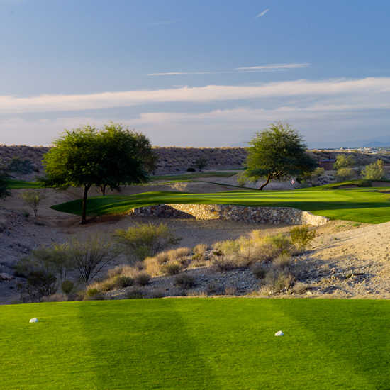 A view from tee #8 at McDowell Mountain GC