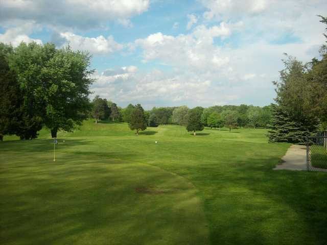 A view from the 1st tee at Hickory Hill Golf Club