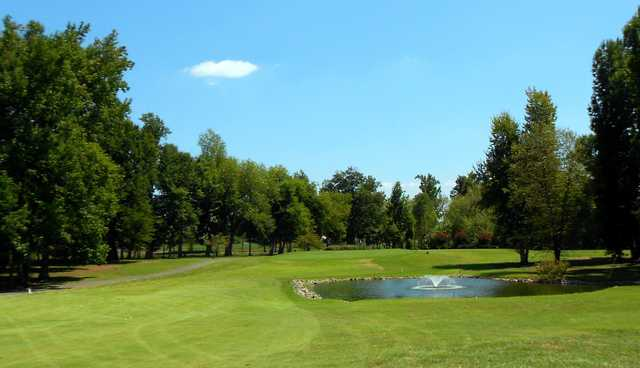A view from the 12th fairway at Calvert City Golf & Country Club