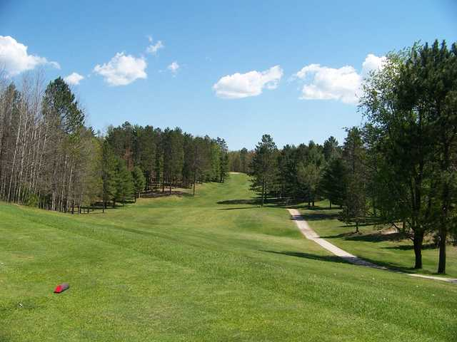 A view from tee #13 at Gladstone Golf Course