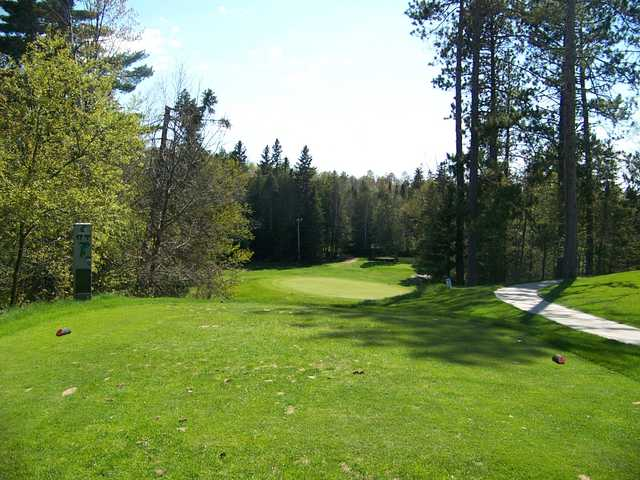 A view from the 17th tee at Gladstone Golf Course