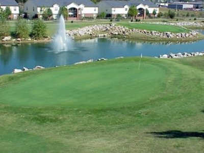 A view of a green from The Links At Harrison Golf & Athletic Club (Lindsey Management)