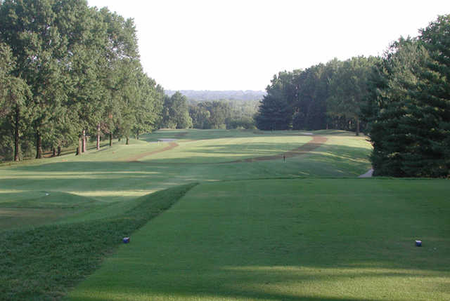 A view from tee #1 at West from Norwood Hills Country Club