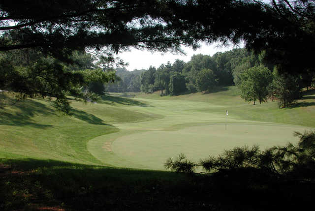 A view of hole #7 at West from Norwood Hills Country Club