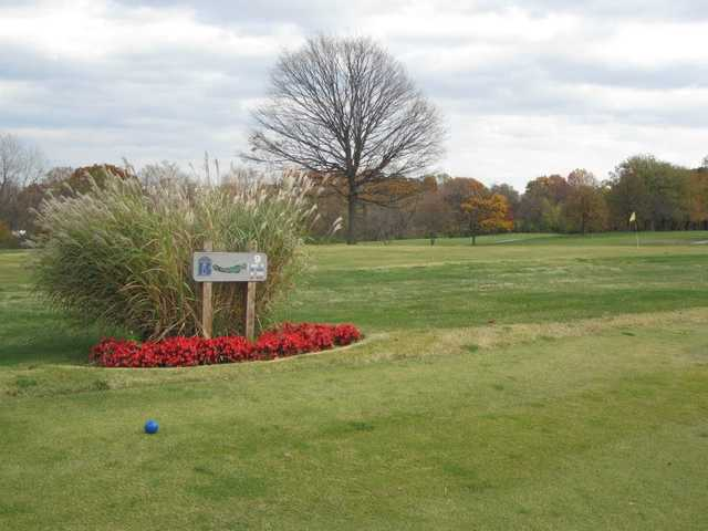 A view from tee #9 at Berry Hill Golf Course