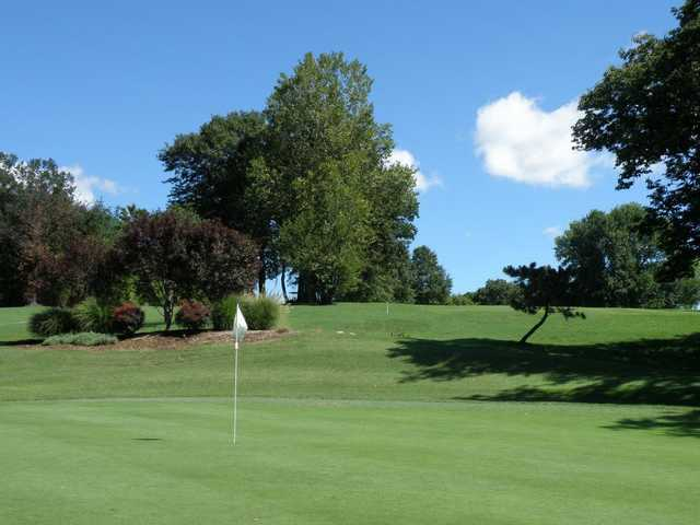 A view of a hole at Berry Hill Golf Course