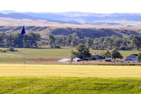 A view of a hole at Johnny Walker Course from Pryor Creek Golf Club