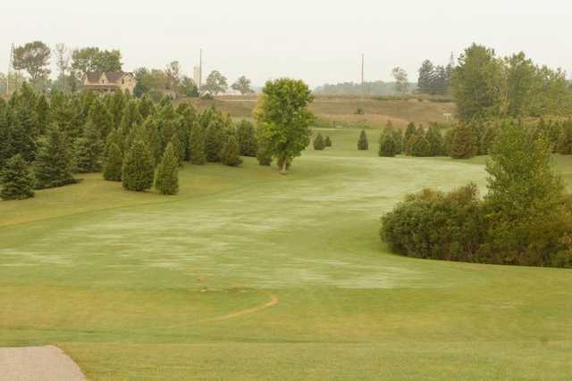 A view of a fairway at Fanshawe Golf Course
