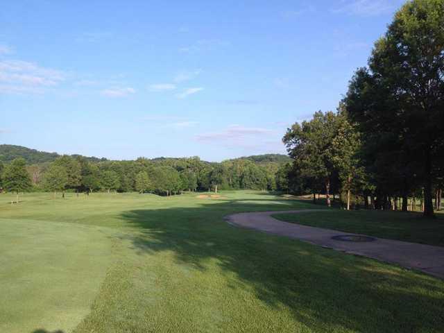 A view of a fairway at Fox Run Golf Club
