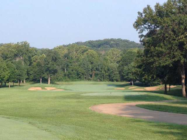A view from a tee at Fox Run Golf Club
