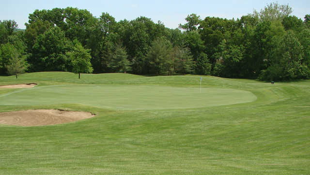 A view of green #5 at Two from Country Club at the Legends