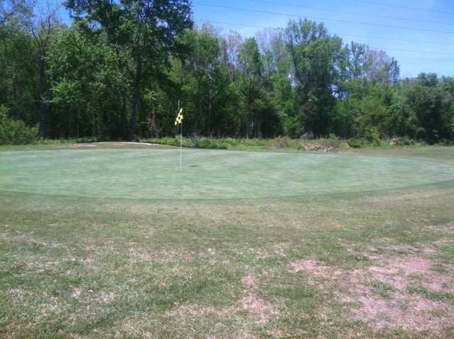 A view of hole #4 at Heather Hills Golf Course