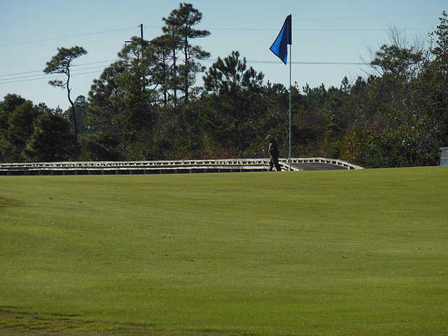 A view of a hole at Castle Bay Country Club