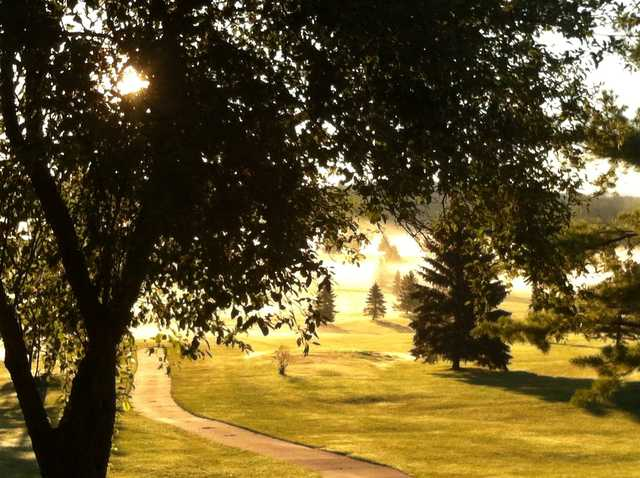 A sunny day view from Skene Valley Country Club