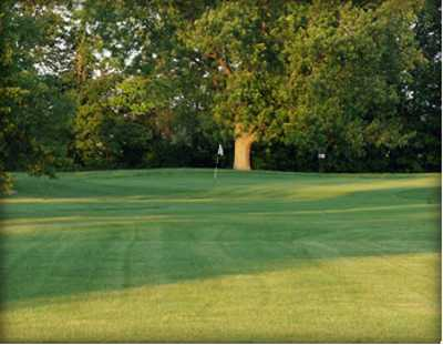 A view of the 2nd green at Homestead Golf Course