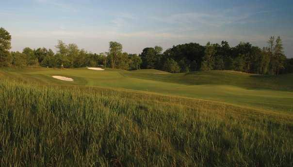 A view of a fairway at Glendarin Hills Golf Club
