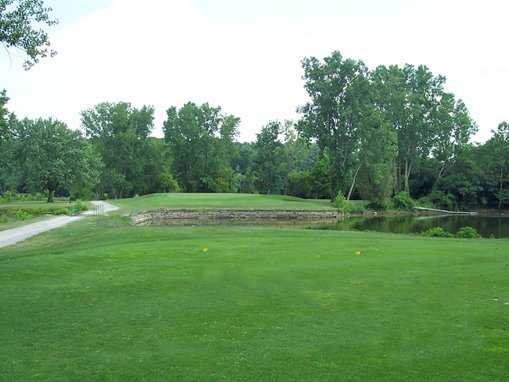 A view from tee #5 at Riverbend Golf Course