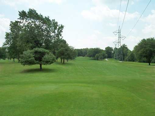 A view from the 9th tee at Riverbend Golf Course