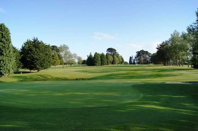 A view of the 16th fairway at New Ross Golf Club