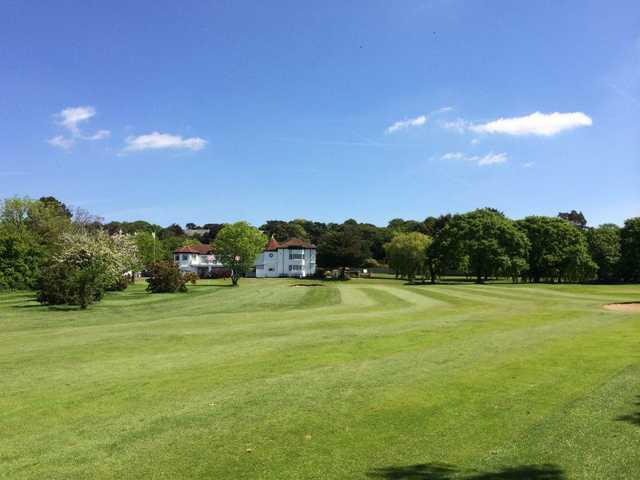 A view of a green at Prenton Golf Club