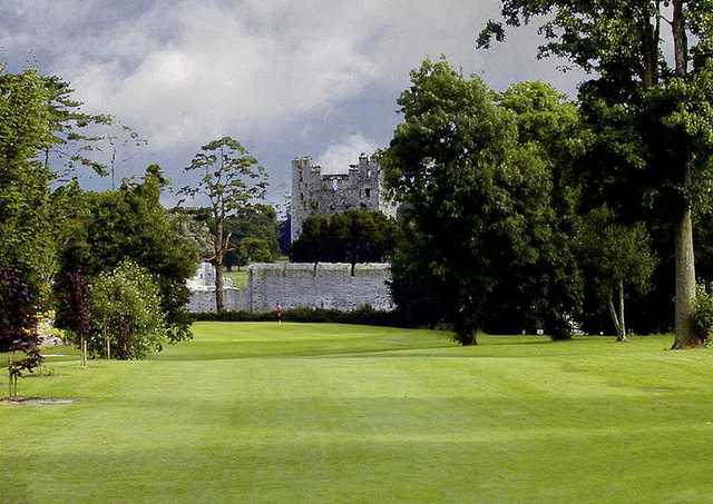 A view from tee #1 at Adare Manor Golf Club