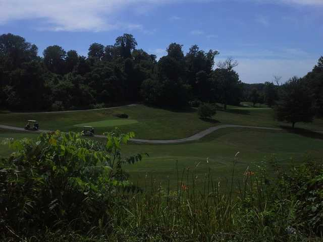 A view from Devou Park Golf Course