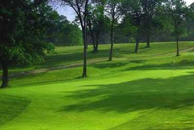 A view from Neumann Golf Course