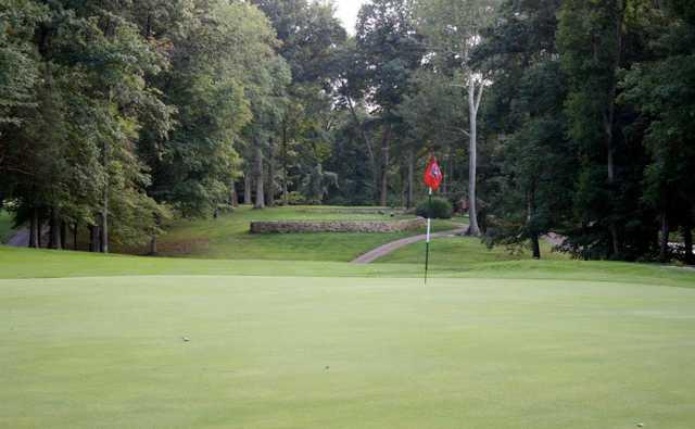 A view of a green at O'Bannon Creek Golf Club