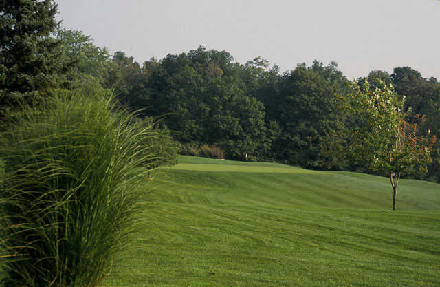 A view of a green at Woodland Golf Course